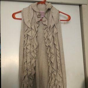 Romeo & Juliet Couture Ruffle Vest